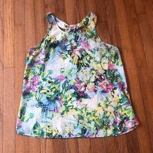 Cynthia Rowley floral top